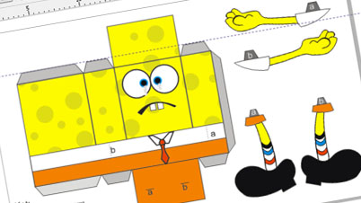 Tag Archives: sponge bob papercraft