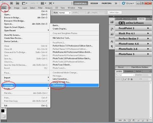 Membuat Foto Panorama dengan Adobe Photoshop