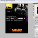"Membuat Desain Cover Buku ""Optimize Your Digital Camera Using Simple Equipments"""