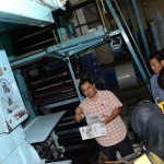 2. mesin pencetakan