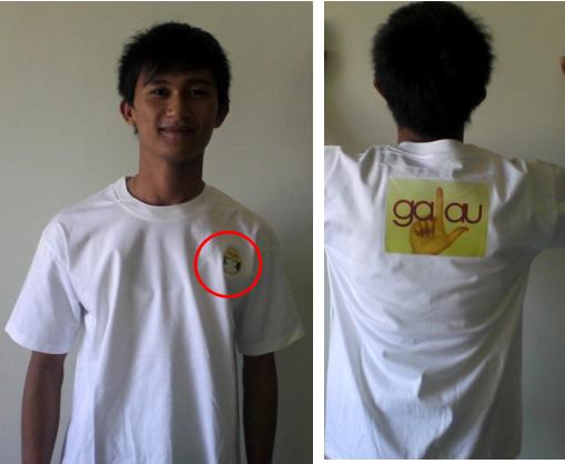 Sablon Baju Unik Dari Siswa Gsi10a PalComTech Baturaja
