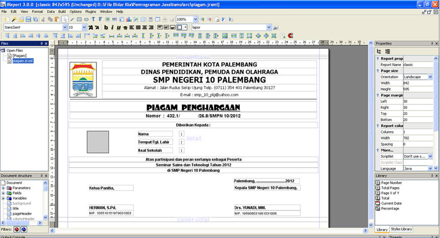 Report Piagam4
