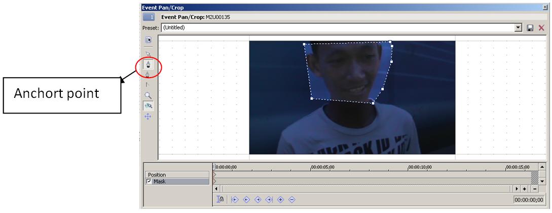 program menghilangkan sensor pada video