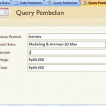 Part 2. Membuat Query Wizard Pada Microsoft Access 2007
