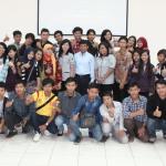 Foto bersama PT. SINAR SOSRO - 2013