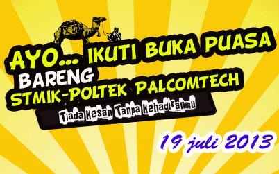 Info Buka Bersama Stmik Poltek Palcomtech