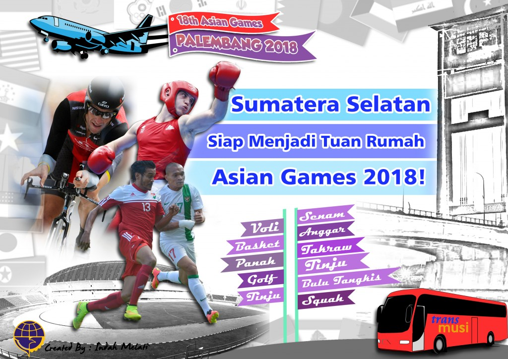 Poster Asian Games 2018