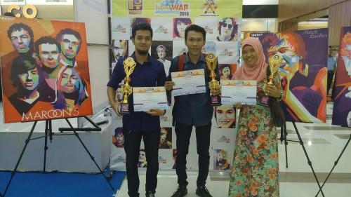 Para Pemenang Lomba Stand Up Comedy dan Jurnalistik