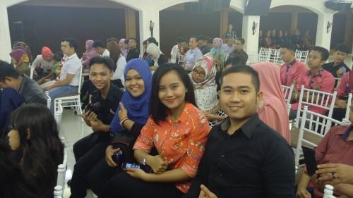 Supporters Saat Malam Final Putra-Putri Kopertis 2 2015